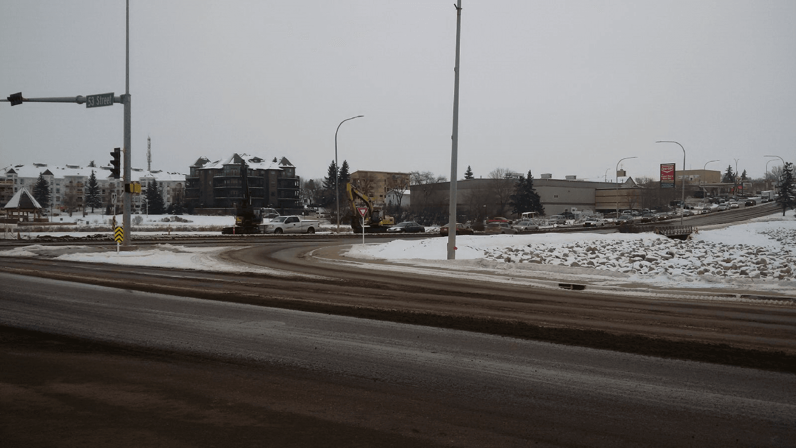 48th Ave eastbound traffic restrictions removed