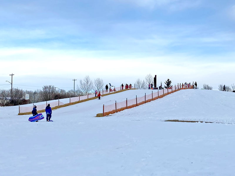 Grand Drive Park Toboggan Hill